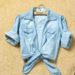 Ladies Blue Jean Shirt One..